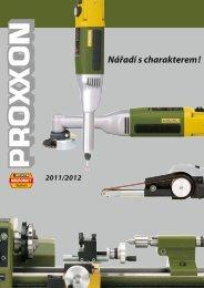 Katalog Proxxon Micromot - prepona.sk