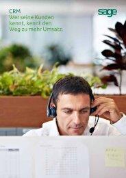 Sage CRM Broschüre