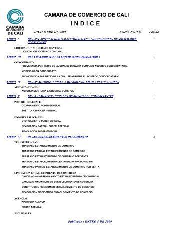 indice - Cámara de Comercio de Cali