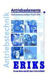 Keilriemenscheiben-Profil-SPA - Eriks
