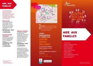 AIDE AUX FAMILLES - Ville de Meudon