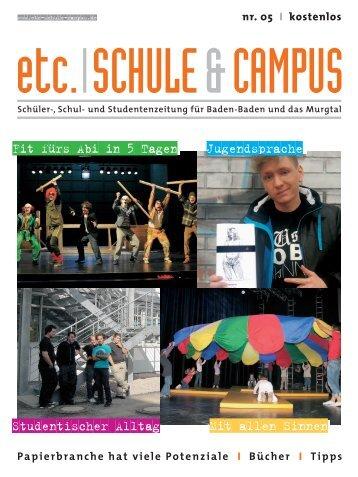 Schüler-, Schul - etc. Schule & Campus