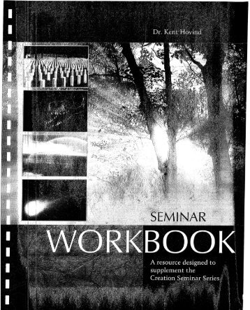 Seminar Workbook (2004) - FreeHovind