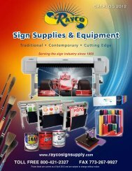 Used Vinyl Cutters - Rayco Sign Supply