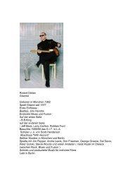 Robert Dietze Gitarrist Geboren in München 1962 Spielt Gitarre seit ...