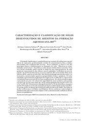 Schiavo, J. A. et al. Caracterização e classificação de solos ...