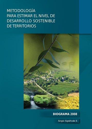 metodología para estimar el nivel de desarrollo sostenible - Instituto ...