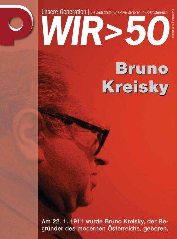 Bruno Kreisky - Pensionistenverband Oberösterreich