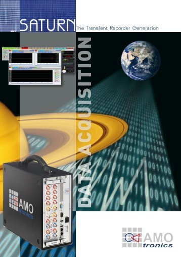 SATURN Brochure English (PDF, 4 MB) - AMOtronics
