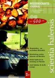 Journal 02-01 - Martin-Luther-Universität Halle-Wittenberg