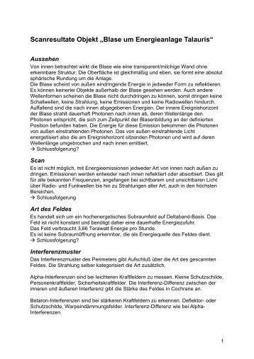 Scanergebnisse (PDF - 15 KB) - Alex Kalcher
