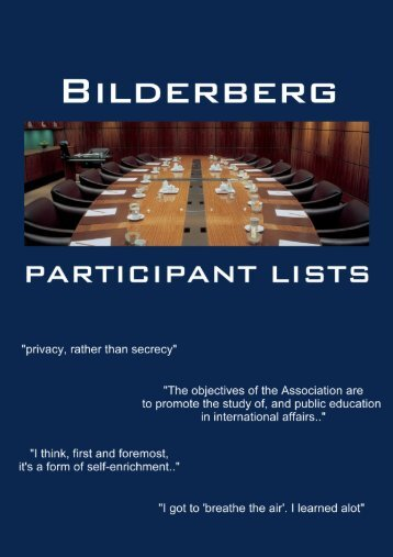 2012 - Chantilly, Virginia, USA, 31st May - 3rd June - Bilderberg ...