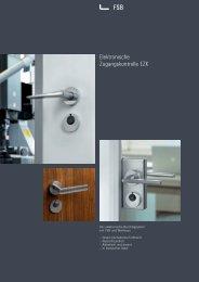 Elektronische Zugangskontrolle EZK - H+W Mechatronik