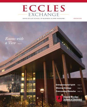 Eccles Exchange - Alumni - University of Utah