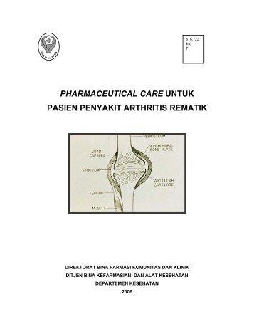 pharmaceutical care untuk pasien penyakit arthritis ... - Binfar Depkes