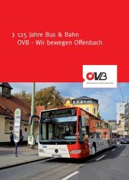 125 Jahre Bus & Bahn OVB - Wir bewegen Offenbach