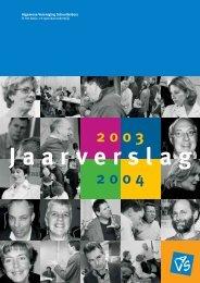 Jaarverslag 2003-2004 - Avs