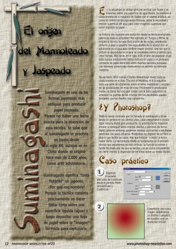 7. Paso a paso #3 - Adobe Photoshop Newsletter