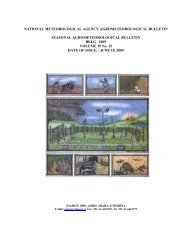 national meteorological agency agrometeorological bulletin