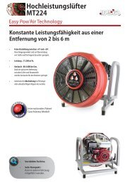 Dokumentation MT224 Easy Pow'Air Technologie - Leader GmbH
