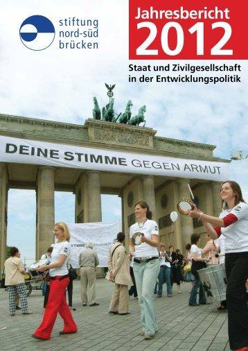 Geschäftsbericht 2012 - Stiftung Nord-Süd-Brücken