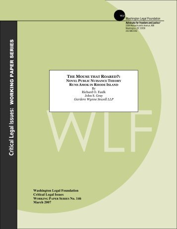 Download a PDF of the Publication - the Washington Legal ...