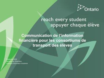 3 Transportation Consortium Financial Reporting Info ... - Ontario.ca
