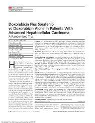 Doxorubicin Plus Sorafenib vs Doxorubicin Alone in Patients With ...