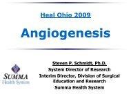 Therapeutic Angiogenesis