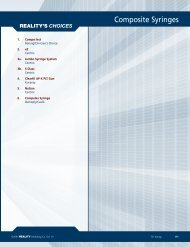 Composite Syringes - REALITY Publishing Company