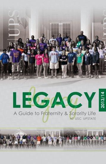 A Guide to Fraternity & Sorority Life - University of South Carolina ...