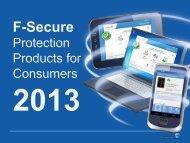 F-Secure - Borealis Systems, Inc.