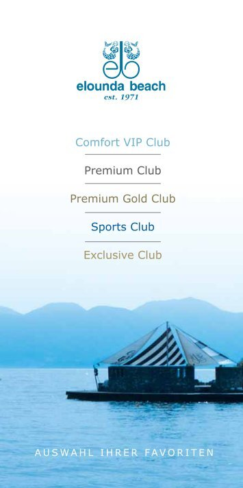 Comfort VIP Club Premium Club Premium Gold Club Sports Club ...