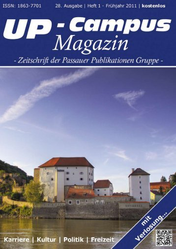 Studentische Gruppen in Passau - UP-Campus Magazin