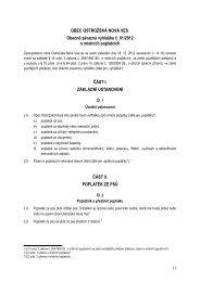 OBEC OSTROŽSKÁ NOVÁ VES Obecně závazná vyhláška č. 01 ...