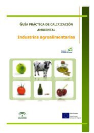 Industrias agroalimentarias - Federación Andaluza de Municipios y ...