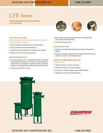 CFE Series - McGuire Air Compressors, Inc