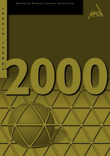 2000 Annual Review - Australian Payments Clearing Association
