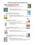 Plew Elementary Summer Reading List Kindergarten - Okaloosa ... - Page 2
