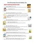 Plew Elementary Summer Reading List Kindergarten - Okaloosa ... - Page 4