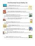 Plew Elementary Summer Reading List Kindergarten - Okaloosa ... - Page 5