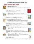Plew Elementary Summer Reading List Kindergarten - Okaloosa ... - Page 6