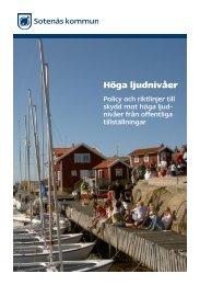 höga ljudnivåer.pdf - Sotenäs kommun