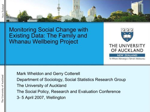 Cotterell Powerpoint Presentation The University Of Auckland