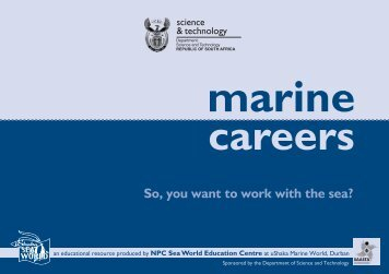 Marine Careers Booklet 2007 - Sancor home page