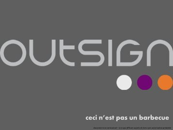 Outsign Product Brochure