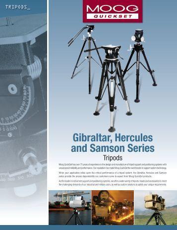 Gibraltar, Hercules and Samson Series - Moog Quickset
