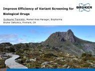 Improve Efficiency of Variant Screening for Biological Drugs - Workcast