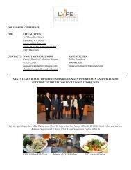 LYFE KITCHEN 167 Hamilton Street Palo Alto, CA 94301 www ...