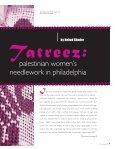 Tatreez - Philadelphia Folklore Project - Page 2